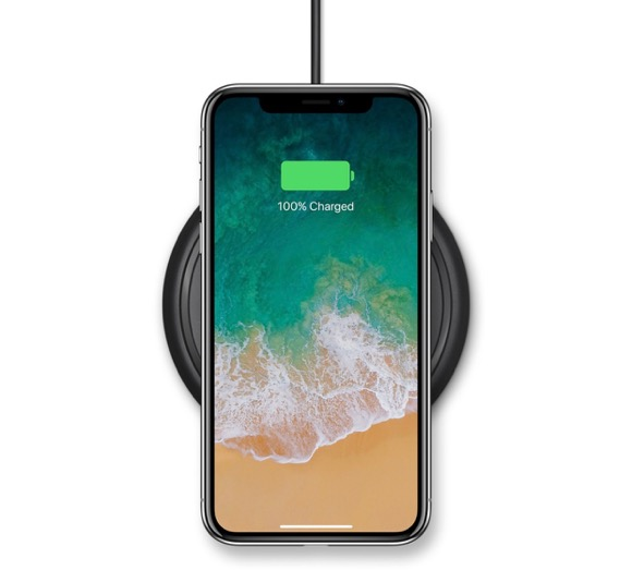 iPhone X/8/8 Plus用ワイヤレス充電器、Appleが取扱い開始