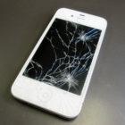 iPhoneの代替機の画面を割ってしまった